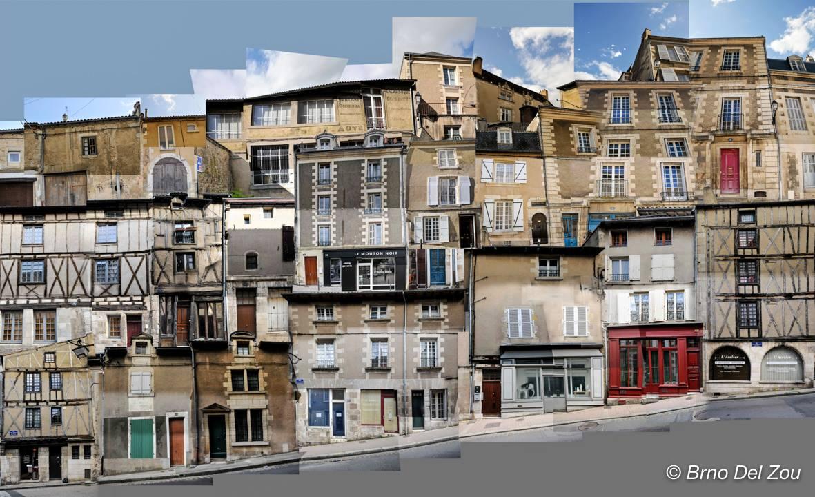 portrait Rue de la Chaine Poitiers